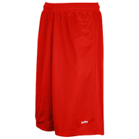 "Eastbay 13"" Mesh Short with Pockets - Men's - Red / Red"