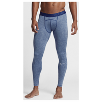 Nike Pro Cool Compression Tights - Men's - Navy / Navy
