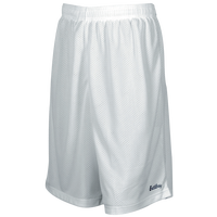 "Eastbay 9"" Basic Mesh Shorts - Men's - All White / White"