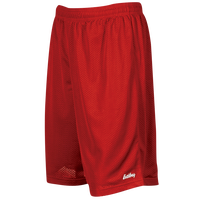 "Eastbay 9"" Basic Mesh Shorts - Men's - Red / Red"