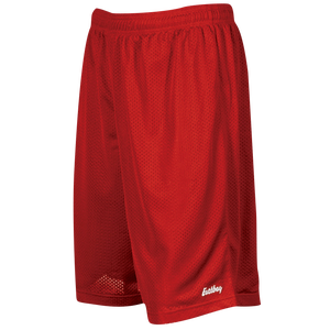 "Eastbay 9"" Basic Mesh Shorts - Men's - Scarlet"