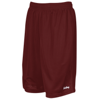 "Eastbay 9"" Basic Mesh Short - Men's - Maroon / Maroon"