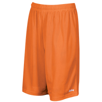 "Eastbay 9"" Basic Mesh Shorts - Men's - Orange / Orange"