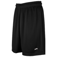 "Eastbay 8"" Basic Mesh Short - Women's - All Black / Black"