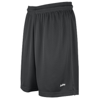 "Eastbay 8"" Basic Mesh Shorts - Women's - Charcoal Silver"