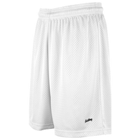 "Eastbay 8"" Basic Mesh Shorts - Women's - All White / White"