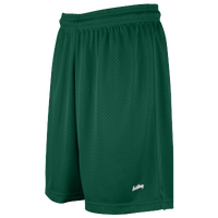 "Eastbay 8"" Basic Mesh Shorts - Women's - Dark Green / Dark Green"