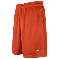"Eastbay 8"" Basic Mesh Short - Women's - Orange / Orange"