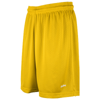 "Eastbay 8"" Basic Mesh Shorts - Women's - Gold / Gold"