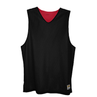 Eastbay Basic Reversible Mesh Tank - Men's - Black / Red