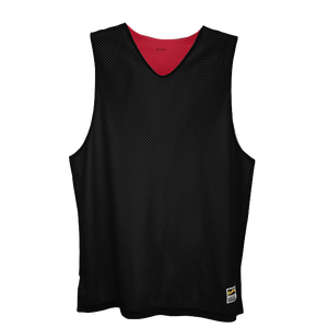 Eastbay Basic Reversible Mesh Tank - Men's - Black/Scarlet