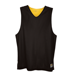 Eastbay Basic Reversible Mesh Tank - Men's - Black/Gold
