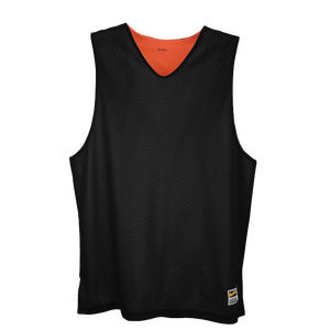 Eastbay Basic Reversible Mesh Tank - Men's - Black/Orange