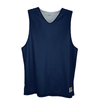 Eastbay Basic Reversible Mesh Tank - Men's - Navy / Silver