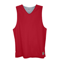 Eastbay Basic Reversible Mesh Tank - Men's - Red / Silver