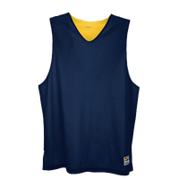 Eastbay Basic Reversible Mesh Tank - Men's - Navy / Yellow