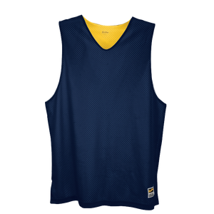 Eastbay Basic Reversible Mesh Tank - Men's - Navy/Gold