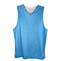 Eastbay Basic Reversible Mesh Tank - Men's - Light Blue / White