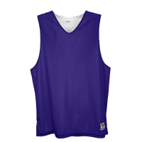 Eastbay Basic Reversible Mesh Tank - Men's - Purple / White