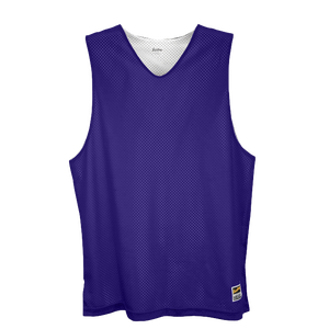 Eastbay Basic Reversible Mesh Tank - Men's - Purple/White