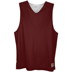 Eastbay Basic Reversible Mesh Tank - Men's - Dark Maroon/White