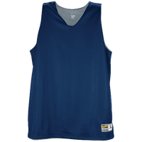Eastbay Basic Reversible Mesh Tank - Women's - Navy / Silver