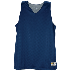 Eastbay Basic Reversible Mesh Tank - Women's - Navy/Star Silver
