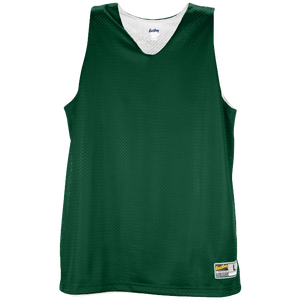 Eastbay Basic Reversible Mesh Tank - Women's - Forest Green/White