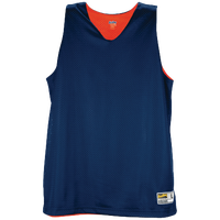 Eastbay Basic Reversible Mesh Tank - Women's - Navy / Orange