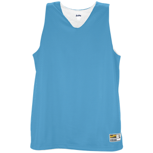 Eastbay Basic Reversible Mesh Tank - Women's - Columbia/White