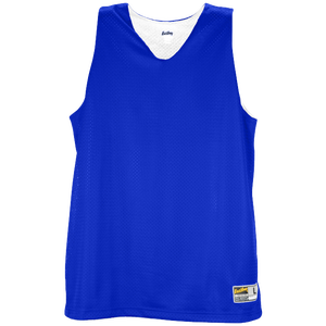 Eastbay Basic Reversible Mesh Tank - Women's - Royal/White