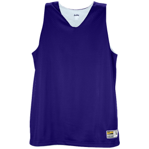Eastbay Basic Reversible Mesh Tank - Women's - Purple/White