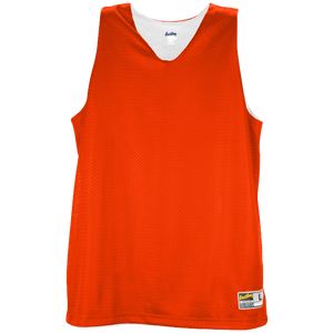 Eastbay Basic Reversible Mesh Tank - Women's - Orange/White