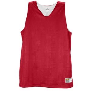 Eastbay Basic Reversible Mesh Tank - Women's - Scarlet/White