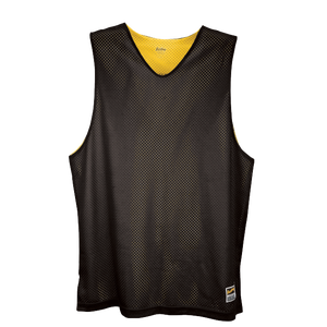 Eastbay Basic Reversible Mesh Tank - Boys' Grade School - Black/Gold