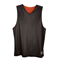Eastbay Basic Reversible Mesh Tank - Boys' Grade School - Orange / Black