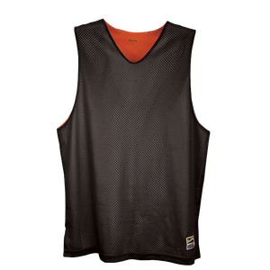 Eastbay Basic Reversible Mesh Tank - Boys' Grade School - Black/Orange