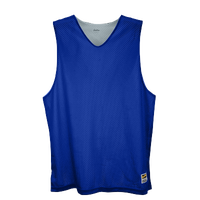Eastbay Basic Reversible Mesh Tank - Boys' Grade School - Blue / Silver