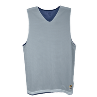 Eastbay Basic Reversible Mesh Tank - Boys' Grade School - Navy / Silver