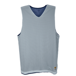 Eastbay Basic Reversible Mesh Tank - Boys' Grade School - Navy/Silver