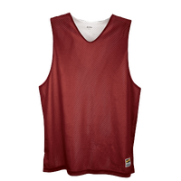 Eastbay Basic Reversible Mesh Tank - Boys' Grade School - Maroon / Silver