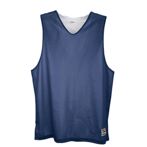 Eastbay Basic Reversible Mesh Tank - Boys' Grade School - Navy/White