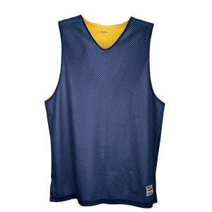 Eastbay Basic Reversible Mesh Tank - Boys' Grade School - Navy/Gold