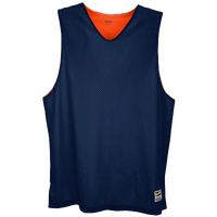 Eastbay Basic Reversible Mesh Tank - Boys' Grade School - Navy / Orange