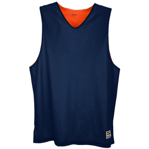 Eastbay Basic Reversible Mesh Tank - Boys' Grade School - Navy/Orange