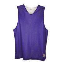 Eastbay Basic Reversible Mesh Tank - Boys' Grade School - Purple / White