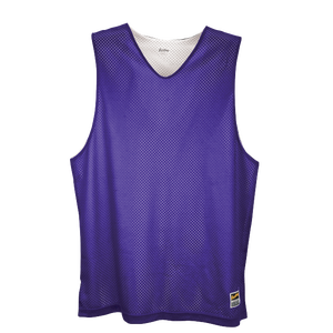 Eastbay Basic Reversible Mesh Tank - Boys' Grade School - Purple/White
