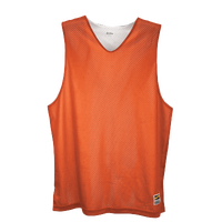 Eastbay Basic Reversible Mesh Tank - Boys' Grade School - Orange / White