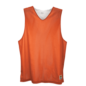 Eastbay Basic Reversible Mesh Tank - Boys' Grade School - Orange/White