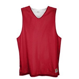 Eastbay Basic Reversible Mesh Tank - Boys' Grade School - Scarlet/White